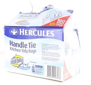 2 x HERCULES 160pk Large Handle Tie Kitc