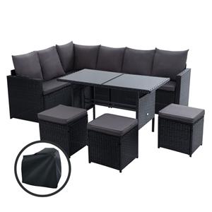 Gardeon Outdoor Furniture Dining Setting