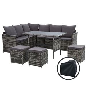Gardeon Outdoor Furniture Dining Setting