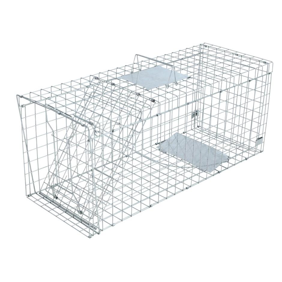 XXXL Large Animal Trap Cage Humane Live Possum Fox Rat Cat Rabbit Hare