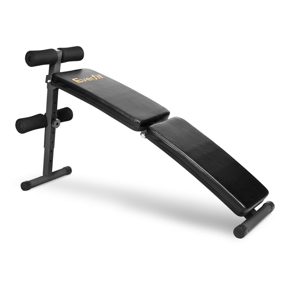 Everfit Home Exercise Fitness Adjustable Sit Up Bench