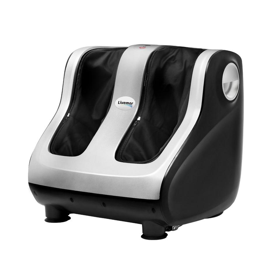 Livemor Foot Massager Ankle Calf Leg Shiatsu Kneading Rolling 4 Motors