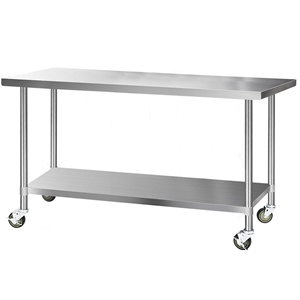 Cefito 1829x760mm Commercial Stainless S