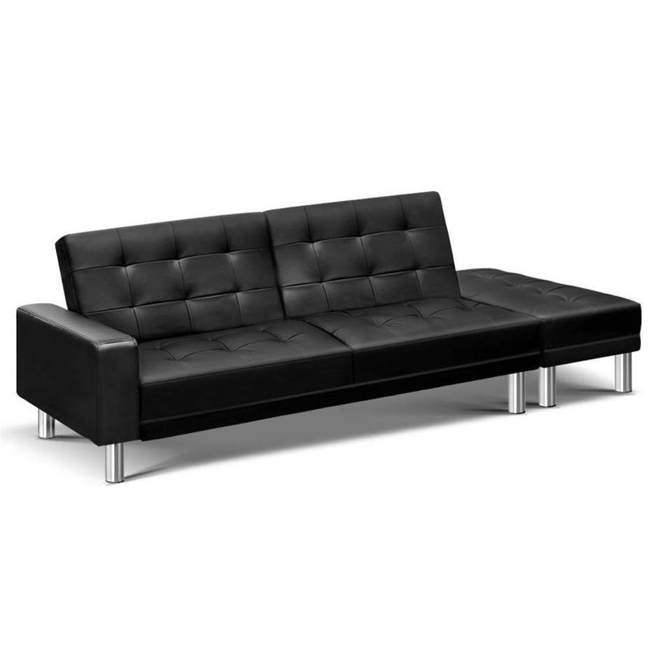 2 Seater Leather Lounge Graysonline