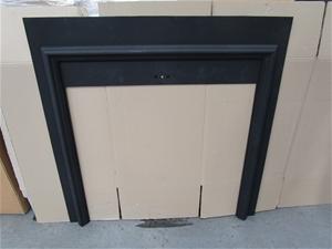 Agnews No. 16 Cast Iron Fireplace Surrou