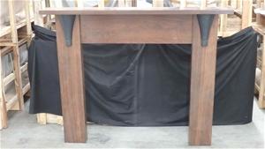 Timber Mantel
