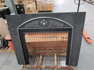 Agnews No. 6 Cast Iron Fireplace Surroun