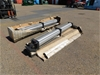 Qty 2 x SMC Pneumatics Hydraulic Ram
