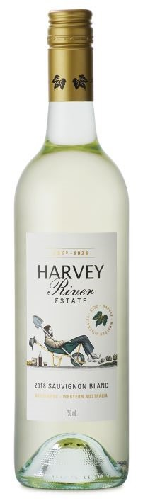 Harvey River Estate Sauvignon Blanc 2018 (6 x 750mL) WA