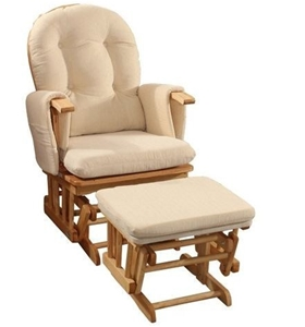 Deluxe Reclining Nursing Rocking Chair
