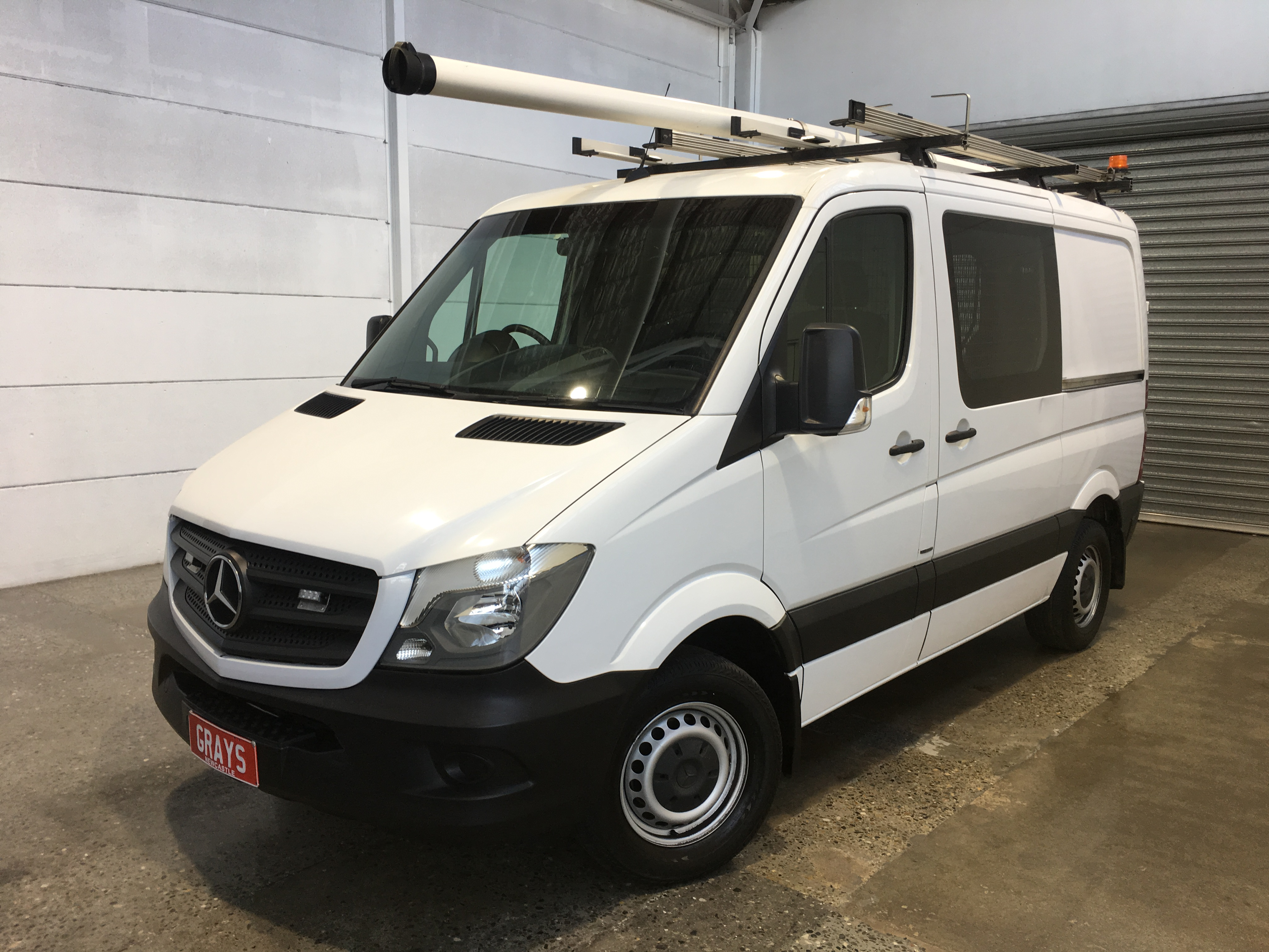 2016 Mercedes Benz Sprinter 313 CDI SWB L/ROOF Turbo Diesel Manual Van