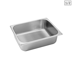 SOGA Gastronorm GN Pan Full Size 1/2 GN