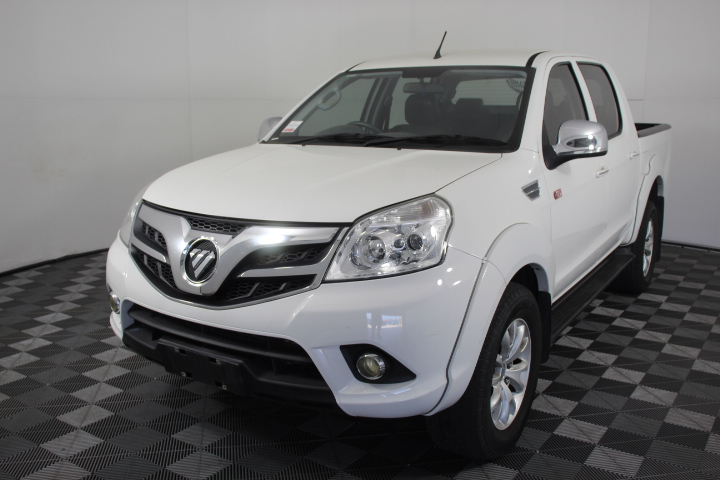 2014 Foton Tunland (4x4) Turbo Diesel Manual Dual Cab