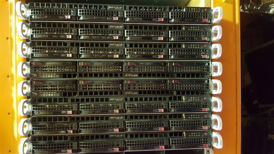 Supermicro 1U-E5-V2CPU SERVER, 2x E5-2650v2, 144GB, 12 TB