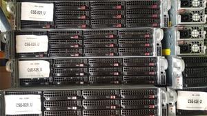 Supermicro 2U-E5-V2CPU SERVER, 2x E5-262