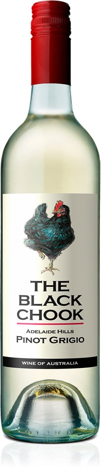 The Black Chook Pinot Grigio 2018 (6 x 750ml) Adelaide Hills SA