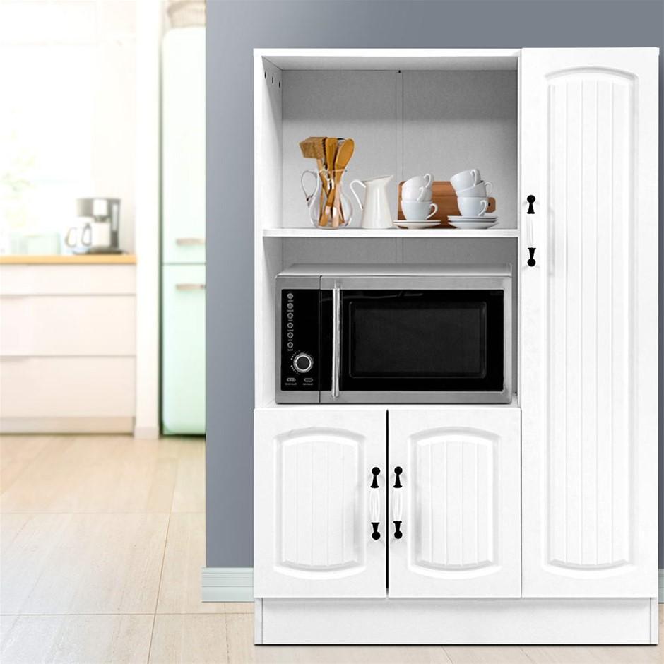 Artiss Buffet Sideboard Cabinet Storage Cupboard White Kitchen Hallway