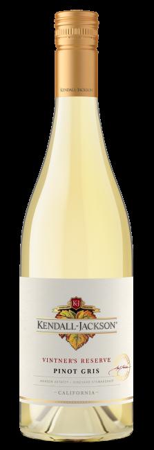 Kendall Jackson Vintners Reserve Pinot Gris 2017 (12 x 750mL) California