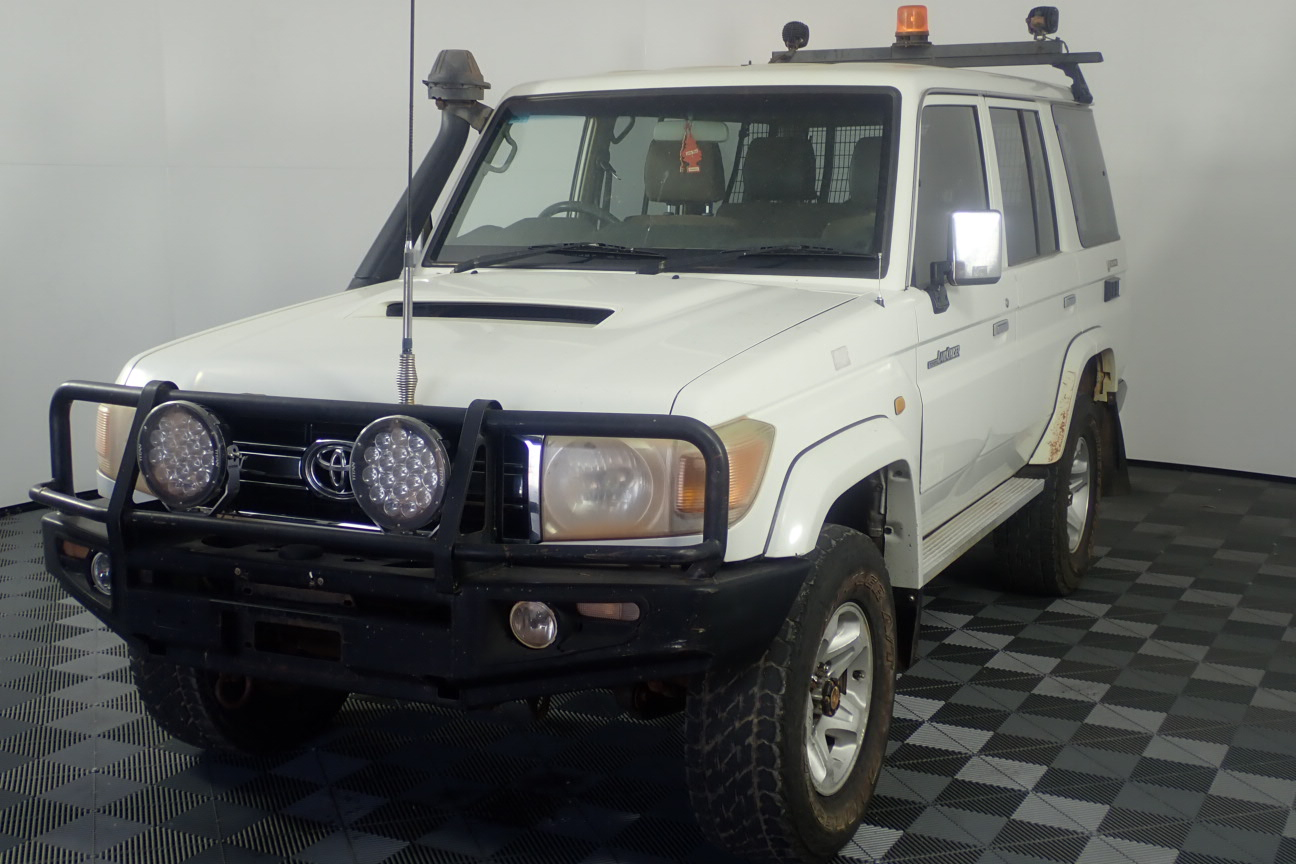 2010 Toyota Landcruiser GXL (4x4) Turbo Diesel Manual Wagon