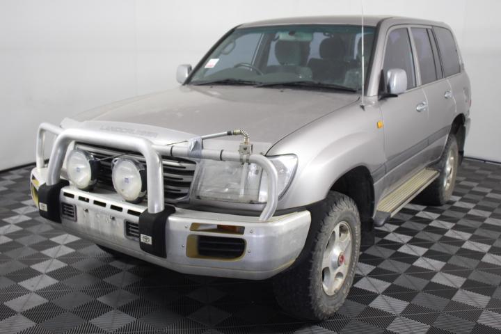 2003 Toyota Landcruiser GXL V8 4WD Auto