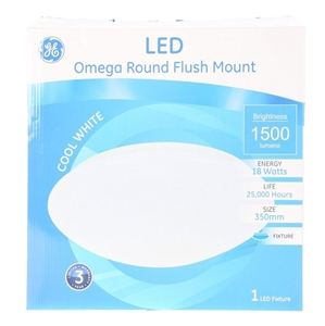 GE LIGHTING 18W Omega Round 350mm LED Fl