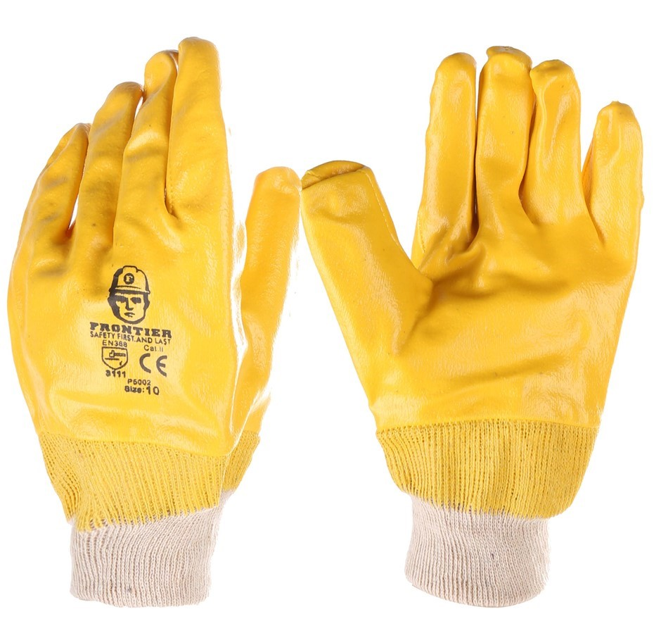 24 Pairs x PVC Gloves, Size XL with Cotton Wrist. Buyers Note - Discount Fr