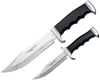 HUMVEE 2pc Bowie Knife Combo Set 300mm & 220mm, Stainless Steel Blade with