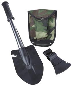 Outdoor shovel/Axe Combo c/w Canvass Pou