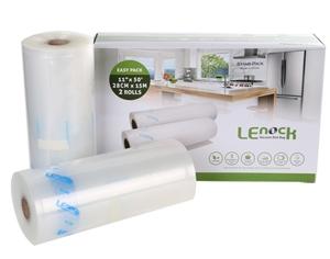 2 Packs of 2 Rolls x LENOCK Vacuum Seal