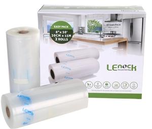 2 Packs of 2 Rolls LENOCK Vacuum Seal 20