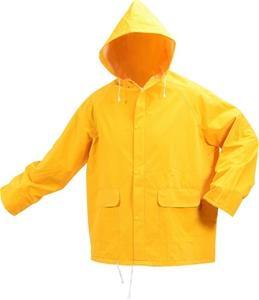 VOREL by TOYA PVC Rain Jacket, Size L, Z
