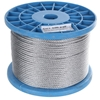 Reel 100M x Galv. Wire Rope, 3mm Dia, Construction 6X19 FC Buyers Note - Di