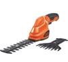 BLACK & DECKER 7V Cordless Shear & Scrubber Kit. Buyers Note - Discount Fre