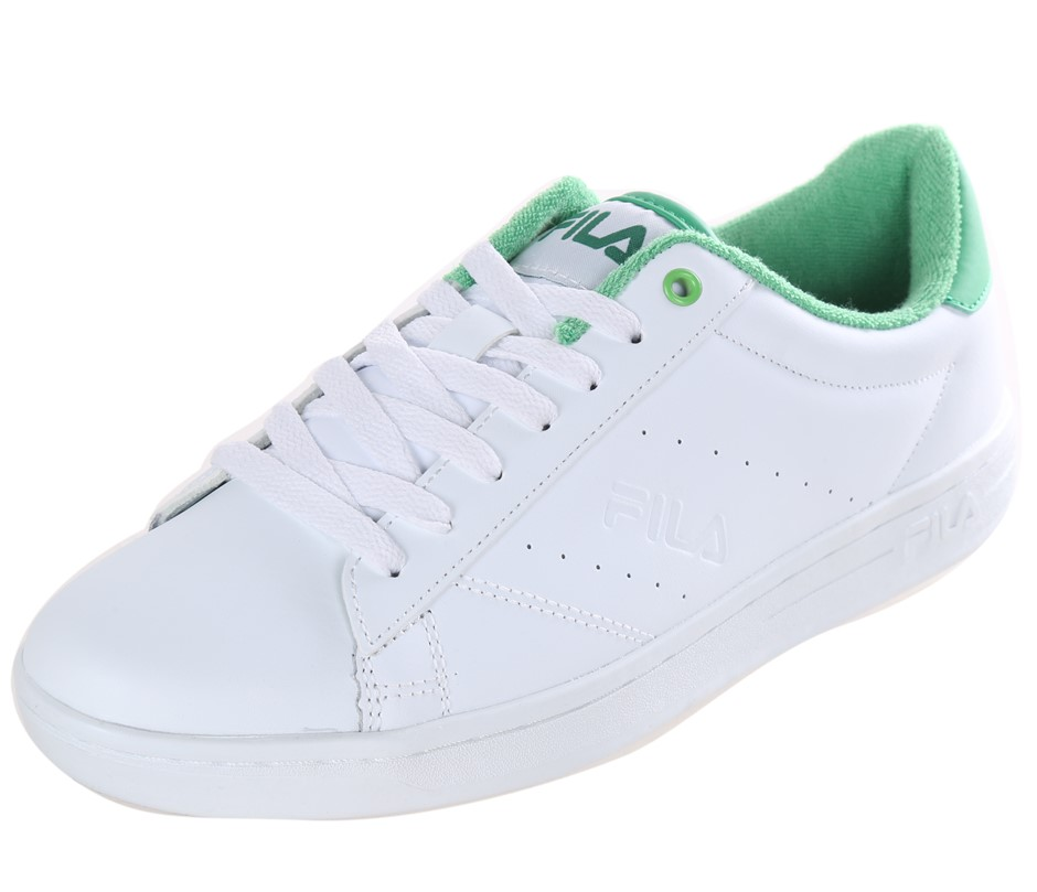 FILA Street Ladies Tennis Sport Shoes, Size UK 7, Leather - PU Upper; White