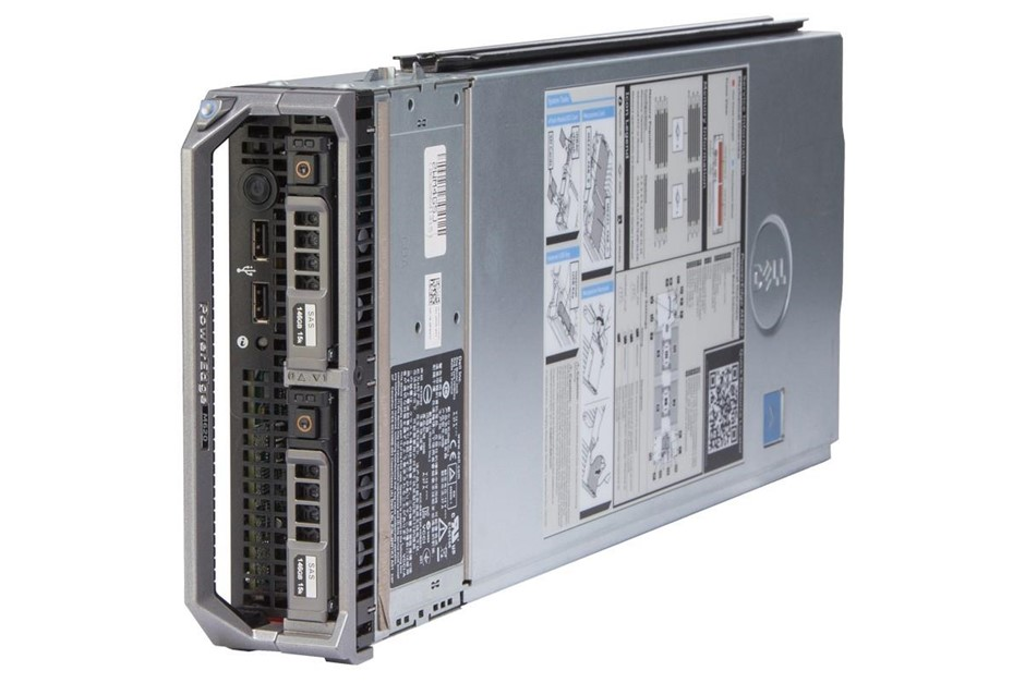 DELL R620 SERVER, 2x E5-2620v2, 384GB, 7.2 TB