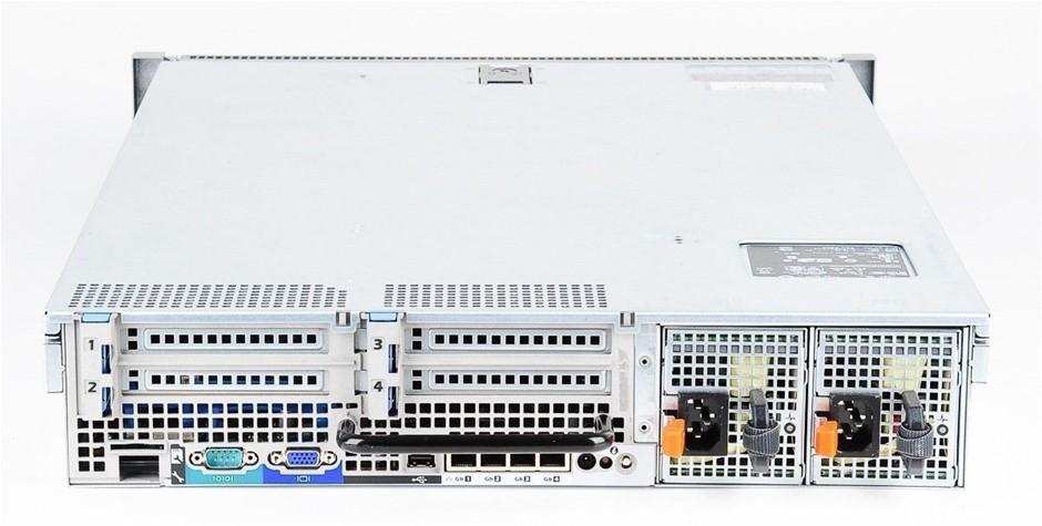 DELL R710 SERVER, 2x X5570, 144GB, 7.2 TB