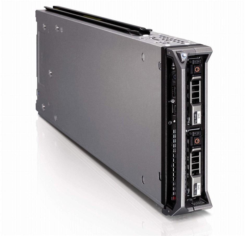DELL M610 SERVER, 2x X5550, 96GB, 0.6 TB