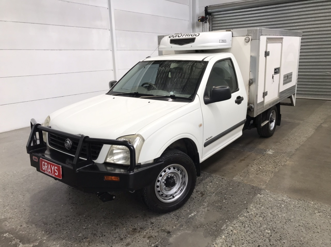 2003 Holden Rodeo LX RA Turbo Diesel Manual Cab Chassis