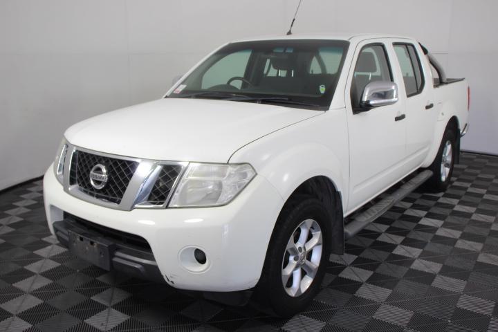 2010 (2011 Comp) Nissan Navara ST-X 4x4 Auto Dual Cab Ute