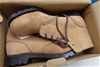 <b>T Boots Beige Lace Up Leather Desert Boots 9.5 - DELIVERY AVAILABLE