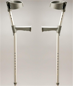 Pair Coopers Elbow Crutches - DELIVERY A