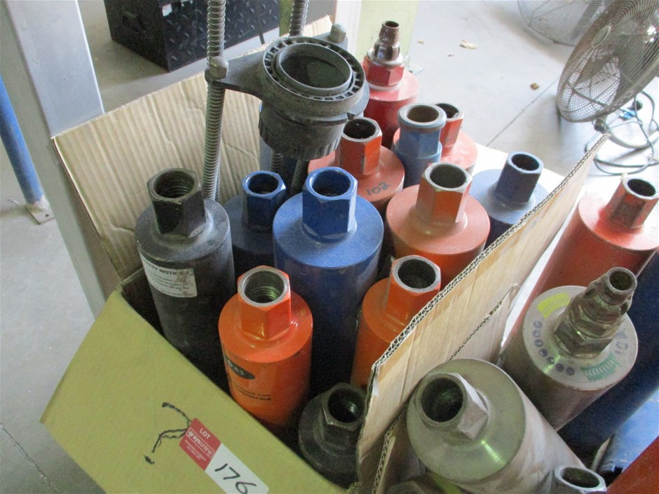 Assorted Concrete Core Drill Bits