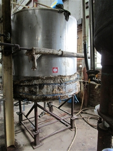 Stainless Steel Jacketed 3 Ton Tank