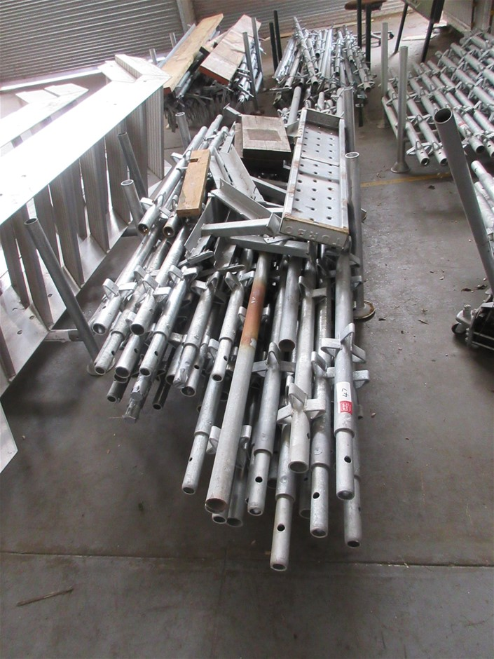 Scaffold Uprights Galvanised