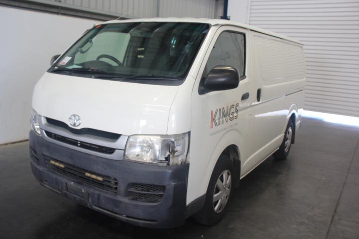2008 Toyota Hiace LWB Automatic Van