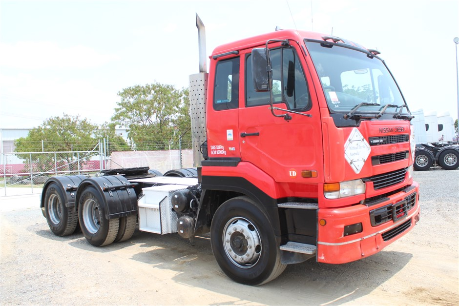 2002 Nissan UD CWB481 6 x 4 Prime Mover Truck