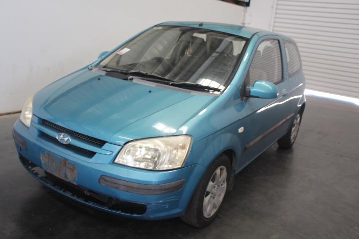 2003 (2004) Hyundai Getz XL TB Automatic Hatchback