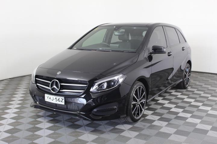 2018 Mercedes Benz B-CLASS B180 W246 7 Automatic Hatchback