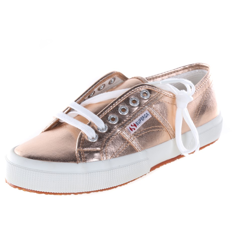 SUPERGA Fantasia Women`s Casual Shoes, UK Size 5, Rose Gold. (SN:CC41710) (