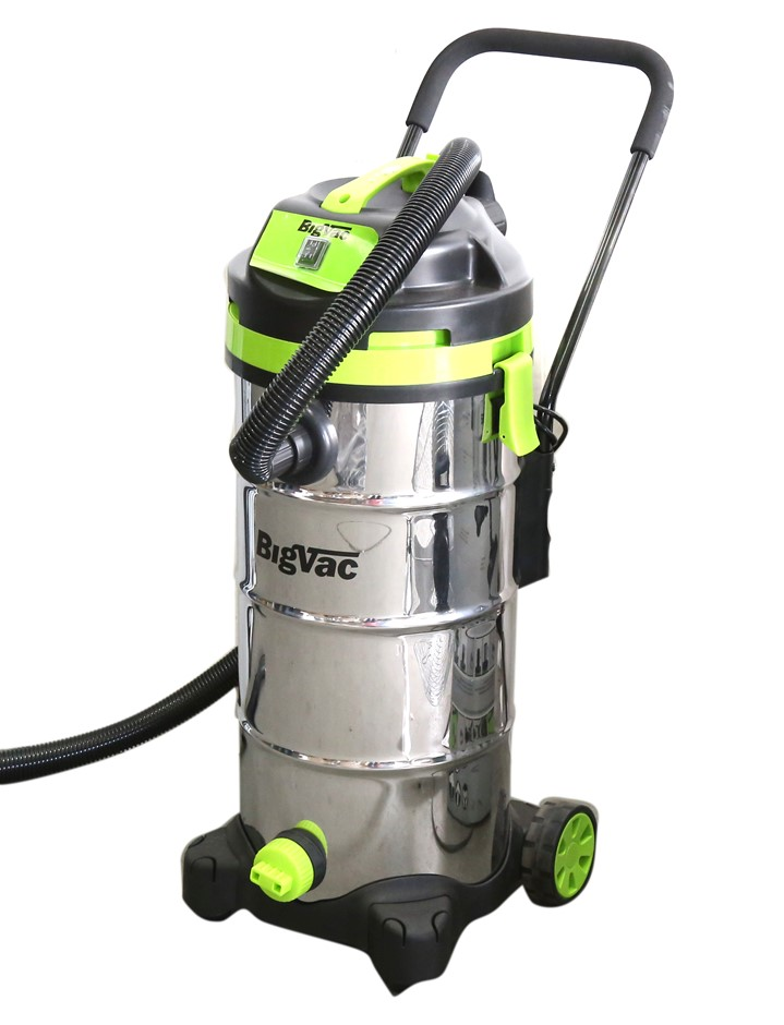 BigVac 40l Wet & Dry Stainless Steel Vacuum Cleaner 1400W. (SN:CC49191) (24